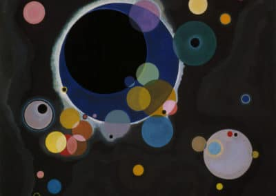 Several circles - Vasily Kandinsky (1926)