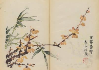 Shi zhu zhai zhai shu hua hua pu – Hu Zhengyan 1633 (30)
