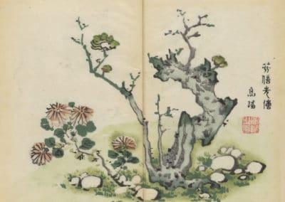 Shi zhu zhai zhai shu hua hua pu – Hu Zhengyan 1633 (37)