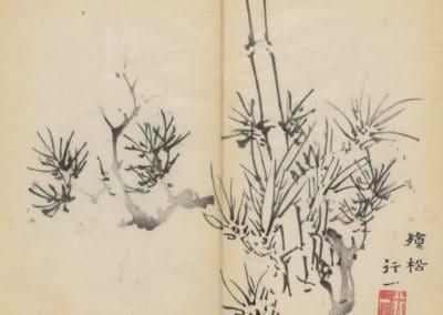 Shi zhu zhai zhai shu hua hua pu – Hu Zhengyan 1633 (45)