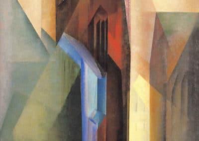 Torturm II - Lyonel Feininger (1925)