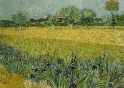 Vue d'Arles - Vincent van Gogh (1888)