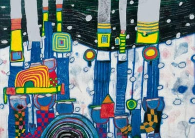 Blue blues - Friedensreich Hundertwasser (1994)