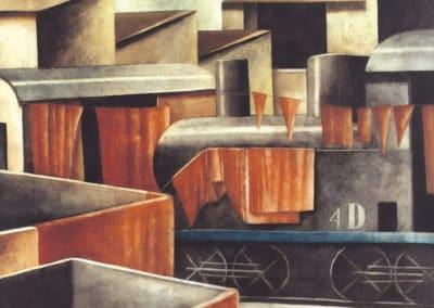 Cronache anarchiche dopo la festa ma quale festa vecchi treni a deposito - Marcello Scuffi (1931)