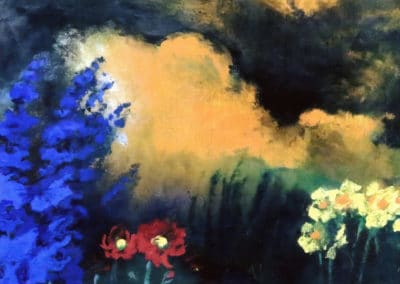 Flowers and clouds - Emil Nolde (1933)