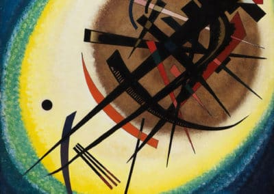 In the bright oval - Wassily Kandinsky (1925)