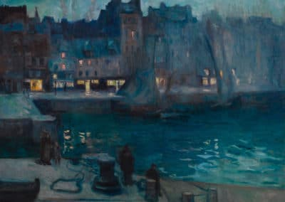 Le port du Havre - Achille-Emile Othon Friesz (1947)