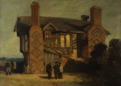 Moreton Hall, Cheshire - John Sell Cotman (1827)