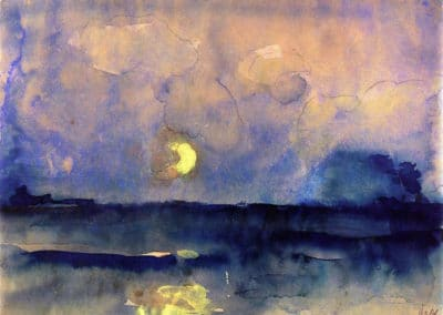 Night - Emil Nolde (1940)