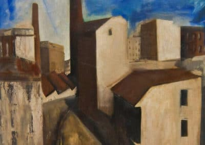 Paesaggio urbano - Mario Sironi (1924)