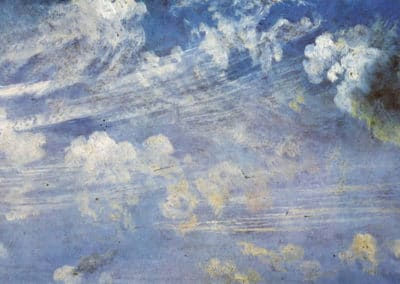 Spring clouds study - John Constable (1822)