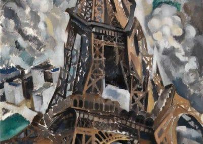 Tour Eiffel - Robert Delaunay (1909)