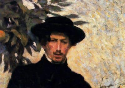 Autoritratto - Umberto Boccioni (1905)