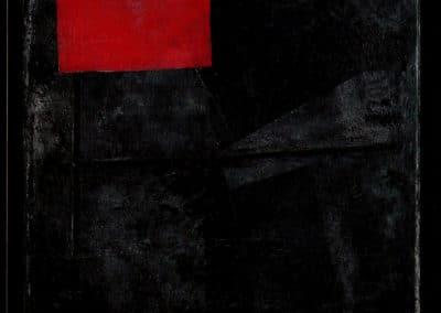 Carre rouge sur fond noir - Kasimir Malevich (1920)