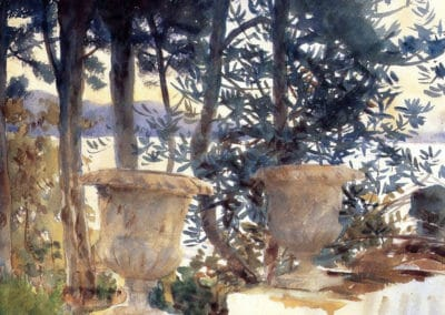 Corfu the terrace - John Singer Sargent (1909)