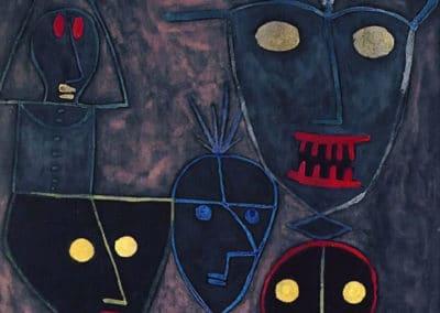 Demonic puppets - Paul Klee (1929)