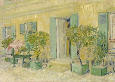 Extérieur d'un restaurant à Asnières - Vincent van Gogh (1889)