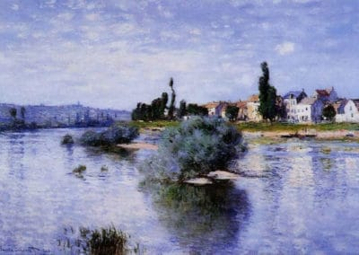 Lavacourt - Claude Monet (1880)