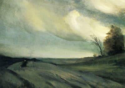 Le vent de mars - Robert Henri (1910)