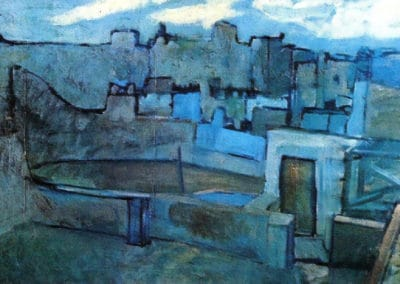Les toits de Barcelone - Pablo Picasso (1903)