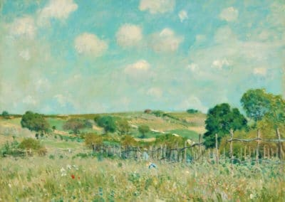Meadow - Alfred Sisley (1875)