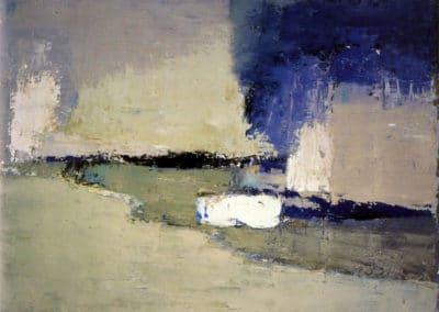 Paysage, Ménerbes - Nicolas de Staël (1953)