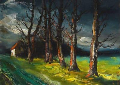 Paysage - Maurice de Vlaminck (1950)
