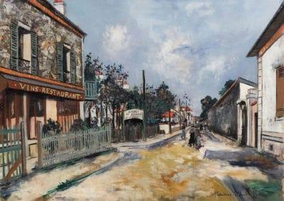 Restaurant à Limeil Brevannes - Maurice Utrillo (1919)