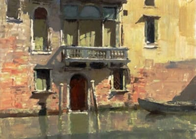 The little palazzo - Edward Seago (1954)