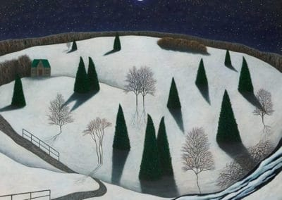 Berkshire nightscape - Scott Kahn (1990)