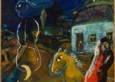 Cheval, tes rêves - Marc Chagall (1944)