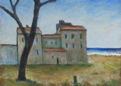 Houses - Carlo Carrà (1956)