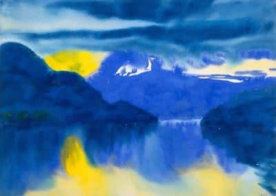 Lake Lucerne - Emil Nolde (1930)