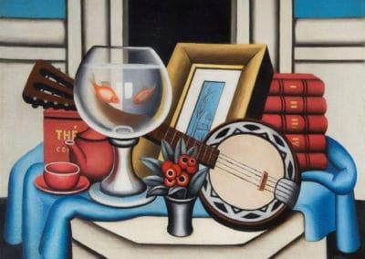 Le bocal aux poissons rouges - Jean Metzinger (1926)