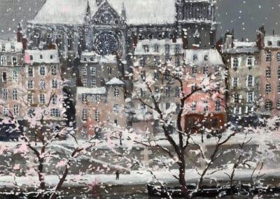 Quai de la Tournelle - Michel Delacroix (2016)