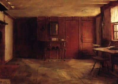 The other side of Susan Ray's kitchen - Eastman Johnson (1897)