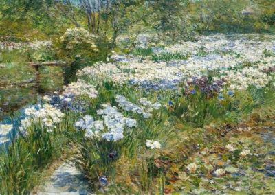The water garden - Frederick Childe Hassam (1909)