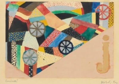 Untitled - László Moholy-Nagy (1920)