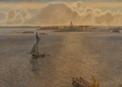 View over Suomenlinna - Antti Favén (1931)