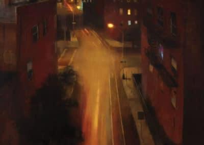 Williamsburg at midnight - Kim Cogan (1998)