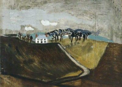 Cumberland farm - Ben Nicholson (1930)