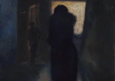 Dark street - Nikolai Sinezouboff (1933)