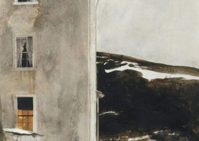Dusk - Andrew Wyeth (1978)