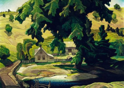Farm - Franklin Carmichael (1940)