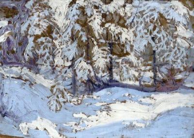 First snow in autumn - Tom Thomson (1916)
