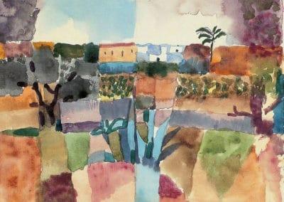Hammamet - Paul Klee (1914)