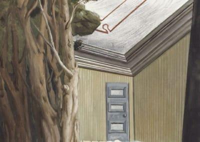 Intérieur forestier, equinoxe - Giorgio de Chirico (1926)