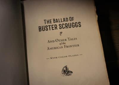 La ballade de Buster Scruggs - Ethan & Joel Coen 2018 (1)