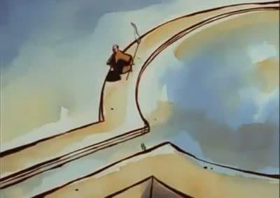 Le moine et le poisson - Michaël Dudok de Wit 1994 (14)