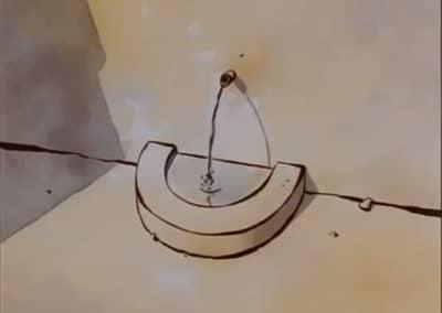 Le moine et le poisson - Michaël Dudok de Wit 1994 (2)